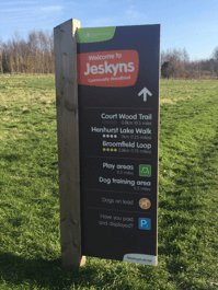 walk and talk counselling at Jeskyns